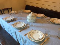 CasaTintoria  Shabby Chich Table Settings, Shabby, Place Settings, Tablescapes