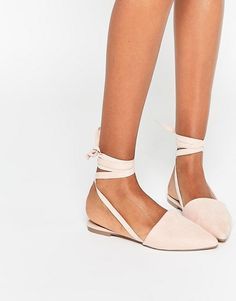 life of the party lace up pointed ballet flats