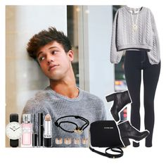 """""""DAY WITH CAMERON"""" by diirectiioner69 ❤ liked on Polyvore featuring Topshop, H&M, Cartier, Maison Margiela, Aéropostale, Christian Dior, Daniel Wellington, SUQQU, Revlon and Michael Kors"""
