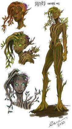 Fantasy Character Design, Character Design Inspiration, Character Art, Fantasy Paintings, Fantasy Artwork, Fantasy Concept Art, Creature Concept Art, Creature Design, Mythical Creatures Art