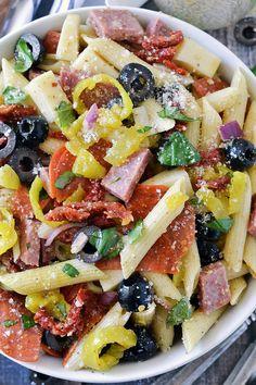 12. Italian Pasta Salad