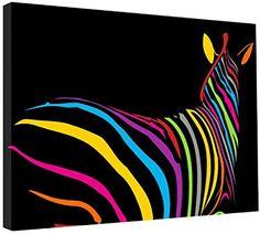 Zebra Painting, Zebra Art, Fabric Painting, Canvas Picture Walls, Canvas Pictures, Canvas Artwork, African Paintings, Animal Paintings, Zebra Kunst