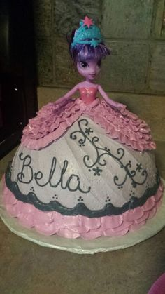 My Little Pony Equestria Girls Doll Cake