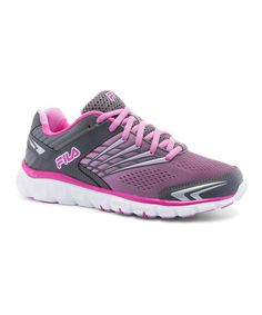 Look what I found on #zulily! Pink & Gray Memory Arizer Running Shoe - Women #zulilyfinds