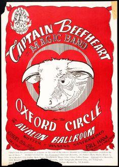 Concert at the Avalon Ballroom (Captain Beefheart and his Magic Band; The Oxford Circle)