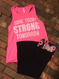 Sore Today Strong Tomorrow Tank *S-L