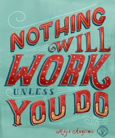 Work rocks! | Quotes for kids