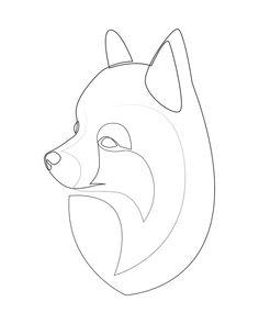 Pomeranian Spitz - one line drawing Art Print by addillum - X-Small Dog Tattoos, Small Tattoos, Tatoos, Drawing Art, Line Drawing, Art Drawings, Crochet Pillow Pattern, Lettering Tutorial, Cartoon Art Styles