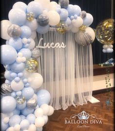 67 Awesome Balloon Decor Ideas For Your Celebration - Page 38 of 67 - Veguci Balloon Decorations Balloon Decor Wedding Balloon Balloon Ideas Balloon Arch Deco Baby Shower, Baby Shower Balloons, Shower Party, Baby Shower Parties, Baby Shower Themes, Baby Boy Shower, Baby Shower Ideas For Boys Decorations, Shower Favors, Shower Invitations