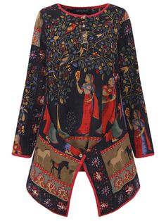 Women Long Sleeve Pure Color Asymmetrical Loose Shirts Cheap - NewChic Mobile.