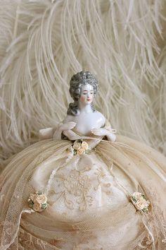 Marie Antoinette Pincushion Doll