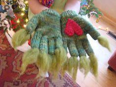 Adorable grinch gloves!!!
