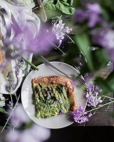 It's up! A new post is finally up...creamy garlic scape + chive flower pesto and asparagus tart. It's really as lovely a...more  #Regram via @lyndsey_eden