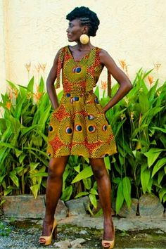 African wax ~African Prints, African women dresses, African fashion styles, African clothing, Nigerian style, Ghanaian fashion
