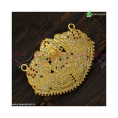 Pendant Design, Pendant Set, Gold Pendant, Blue Dart, Jhumka Designs, Imitation Jewelry, Gold Plated Necklace, Cata, Diamond Stone