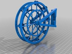 Ferris Wheel by CurryCrutons Thingiverse #3dPrintedToys