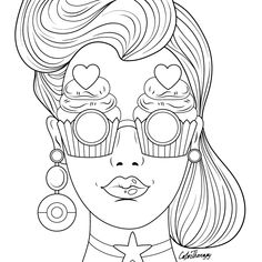 The #sneakpeek for the next Gift of The Day tomorrow. Do you like this one? #Pop #Art #Lady #Funny #Glasses ********** Don't forget to check it out tomorrow and show us your creative ideas, color with Color Therapy: http://www.apple.co/1Mgt7E5 ********** #happycoloring #giftoftheday #gotd #colortherapyapp #coloring #adultcoloringbook #adultcolouringbook #colorfy #colorfyapp #recolor #recolorapp