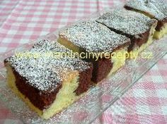 Olejová buchta (jako třená) Sponge Cake, Sweet Cakes, Cookie Desserts, Recipies, Food And Drink, Cooking Recipes, Sweets, Cookies, Baking