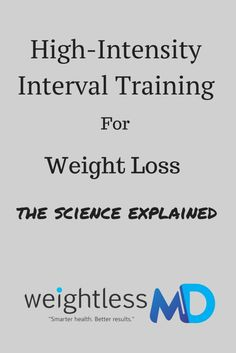 High-Intensity Interval Training (HIIT) for Weight Loss: The Science Explained.