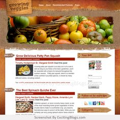Gardening Blogs, Growing Veggies, Squash, Cantaloupe, Spinach, Fruit, Vegetables, Easy, Food