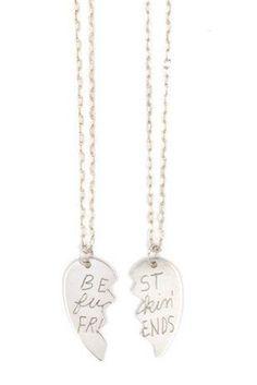 BFF-worthy jewelry.