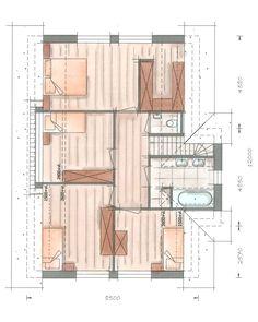 Villabouw Groot Koolwitje plattegrond verdieping