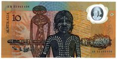 Modern polymer banknotes were first developed by the Reserve Bank of Australia (RBA), CSIRO and The University of Melbourne. They were first issued as currency in 1988 to coincide with Australia's Bicentenary. Aboriginal People, Aboriginal Art, Aboriginal Culture, Primary History, University Of Melbourne, Man Cave Signs, Wall Paint Colors, New Inventions, Australia Day