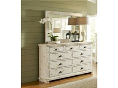 Shop for Progressive Furniture Drawer Dresser, P610-23, and other Bedroom Chests and Dressers at Simply Discount Furniture in Saugus, CA. This group bestows elegance with the splendor of a unique finish and the nature of salvaged wood. Willow has three different finishes to choose from as well as two different styled beds.