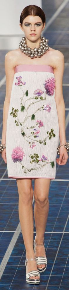 Chanel Couture is definitely out of this world.