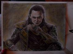 Loki draw, draw, Thor, Avengers