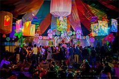 Lucia - Ozora Festival, 2009. Live performances to accompany audio artists, throughout a tented music festival in Ozora, Hungary. (Photographs by Boris B. Voglar @ http://500px.com/billy)