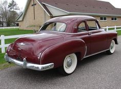 1949 Chevy Styleline Coupe..Re-pin...Brought to you by #HouseofInsurance for #CarInsurance #EugeneOregon