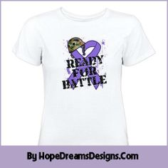 Ready For The Battle Hodgkin's Lymphoma shirts by www.hopedreamsdesigns.com #hodgkinslymphoma #hodgkinslymphomaawareness #hodgkinslymphomashirts