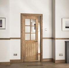 The Abbotsfield Mexicano Oak veneer glazed door brings contemporary style with traditional design through 6 clear glass panels. Quality style while allowing light to travel through a home makes this a popular choiceFor more information get in touch today. Internal Cottage Doors, Internal Doors, Glass Panel Door, Oak Doors, Door Furniture, White Doors, Cottage Interiors, Door Design, Clear Glass