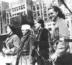 Role of women in organized opposition to the German occupiers of France and the Vichy Regime during World War II. The French Resistance, in . Operation Bagration, Brave Women, Female Fighter, Female Soldier, German Army, Women In History, World War Two, Wwii, Vintage Photos