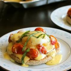 #230598 - Roasted Tomato Eggs Benedict Recipe