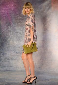 VESTIDO estampado de punto Knit dress, autum dress
