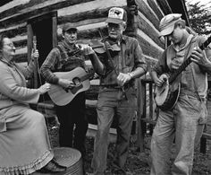 Appalachia's Artists - Roan Mountain Hilltoppers,      at Fiddler's Grove, 2003, Union Grove, Iredell County, NC.
