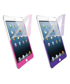 Take a look at this Purple & Pink Screen Protector for iPad Mini by Merkury Innovations on #zulily today!