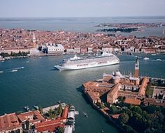 Cruise through Italy... Hoping we can save to experience this on our 10 year anniversary!