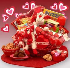 Gift Basket Drop Shipping A Little Monkey Business Kids Valentines Gift Basket * Find out more about the great product at the image link.