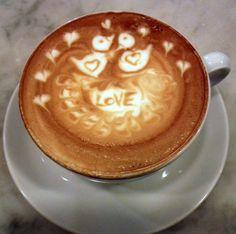 Sweet Latte Art from Simone!