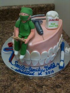 Dentist cake Follow Phan Dental Today! https://www.facebook.com/phandentalyeg https://twitter.com/PhanDental