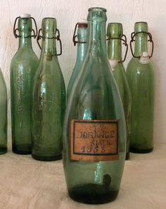 bottles.quenalbertini: Vintage French Perrier Bottles | Etsy