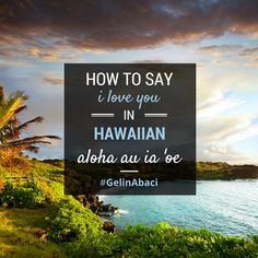 how to say your welcome in hawaiian