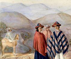 Indios de Pansitará, provincia de Popayán