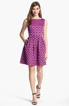 Trina Turk Blaze Sleeveless Fit & Flare Dress available at #Nordstrom