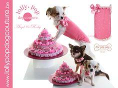 Rocky en Angel in For Pets Only verkrijgbaar op www.lollypopdogcouture.be