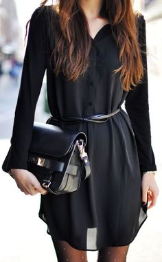 Perfect Long Sleeve Lbd by Stylista