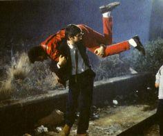Michael Jackson and John Landis